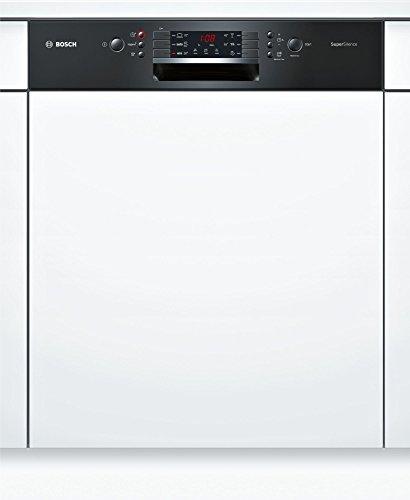 Bosch Serie 4smi46mb03e Semi integrierter 14places A + + Spülmaschine–Geschirrspülmaschinen (Semi Integriert, Full Size (60cm), schwarz, Tasten, 1,75m, 1,65m)