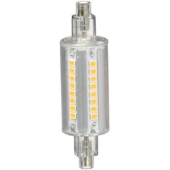Lampada r7s 78mm 60 led smd bianco caldo 3000k 100 240v for Beghelli r7s 78mm