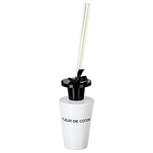 Diffuseur de parfum 150 ml - 6 bâtons - Fleur de coton
