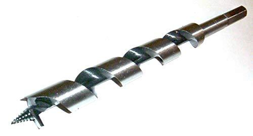 6 Holzbohrer / Schlangenbohrer Sortiment 6 - 20 mm Durchmesser, 230 mm lang