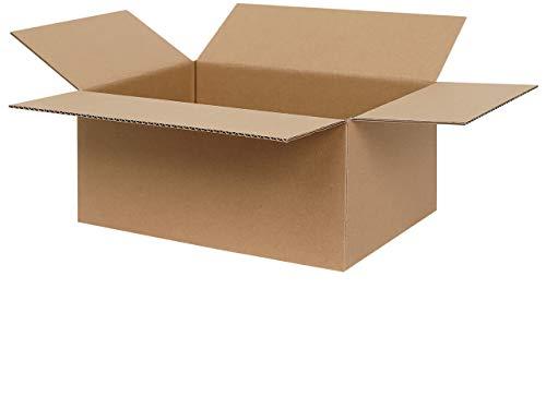100 Faltkartons 300 x 215 x 140 mm   Versandkartons A4   Kartons geeignet für Versand mit DPD, GLS und Hermes