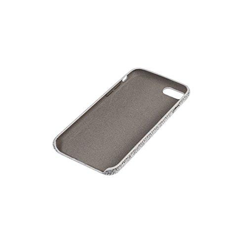 iPhone Case Cover Housse de protection pour iPhone 7 Ultra Fiber + PC ( Color : Dark blue ) Grey