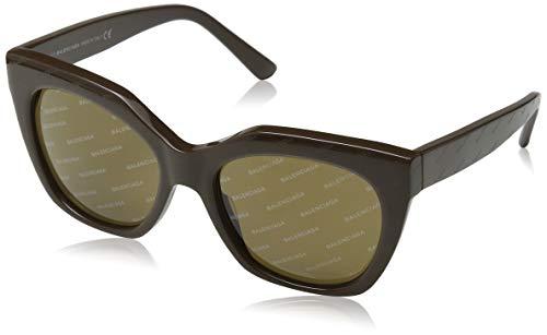 Balenciaga Damen Sunglasses Ba0132 50E-54-18-140 Sonnenbrille, Braun, 54