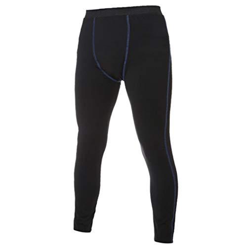 UFACE Herren Sportswear Laufstrumpfhose Gym Compression Leggings Hose Hose Tights Fitness Hose(Schwarz,L)