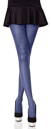 Merry Style Blickdichte Damen Strumpfhose Microfaser 70 DEN (Jeans, 3 - Frauen Bekleidung Für Denim