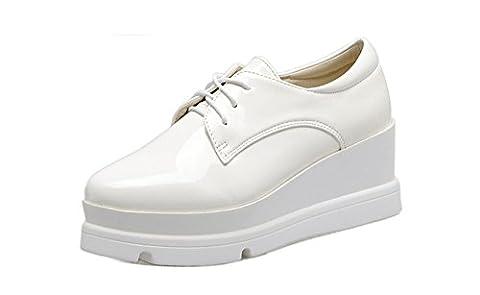 Ladola Dgug00032, Plateforme femme - blanc - blanc,