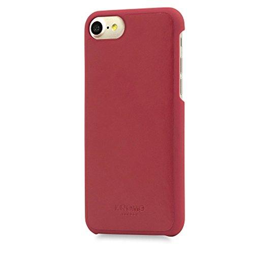Knomo 14-214-BLK Snap on Schutzhülle für Apple iPhone 7 Plus schwarz rot