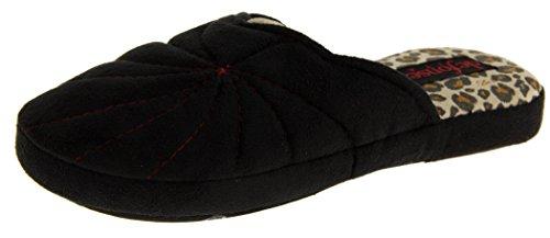 Footwear Studio , Chaussons pour femme Noir - noir