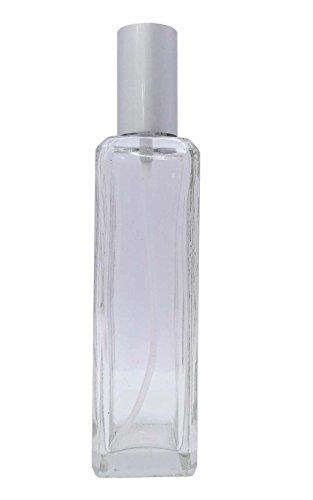 100Ml Clair Atomiseur En Verre De Parfum Vaporisateur Bouteilles Réutilisables Bouteilles D'Huiles Essentielles Aromathérapie Gros Pack Bottles- 12