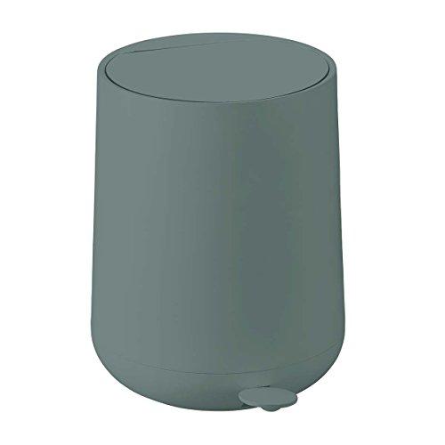 Zone - Treteimer - Abfalleimer - Mülleimer - ABS - 5 l - Petrol/grün