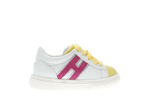 Hogan Junior Sneaker J340 Bambina Bianco 21 6082f0fb156