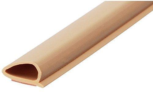 6 Meter -GedoTec® Zimmer-Türdichtung selbstklebend TPE 4.10 Türzargendichtung Türanschlagdichtung Fensterdichtung | Universal-Dichtung Falzbreite 12 mm | Farbe: weiß | Profi Klebedichtung für Fenster & Türen | Markenqualität für Ihren Wohnbereich