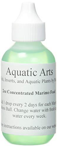 Aquatic Arts Marimo Mooskugel Lebensmittel/Süßwasser, Dünger | Aquarium/Terrarium Kit Zubehör für Live Pflanzen | Liquid Dosiergerät für Jar/Schale