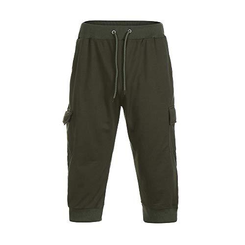 Goldatila Männer Shorts Männer Shorts Hosen Herren Strand Shorts Kurze trockene Strandhose mit Taschen gedruckt Badehose