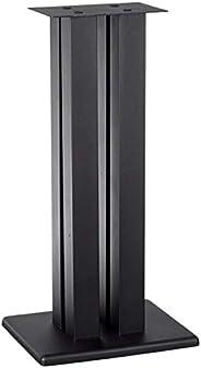 حامل مكبر صوت مونوليث - 124794 24 بوصة (كل قطعة) - أسود | يدعم 34 كجم، مسامير قابلة للتعديل، متوافق مع Bose، ب