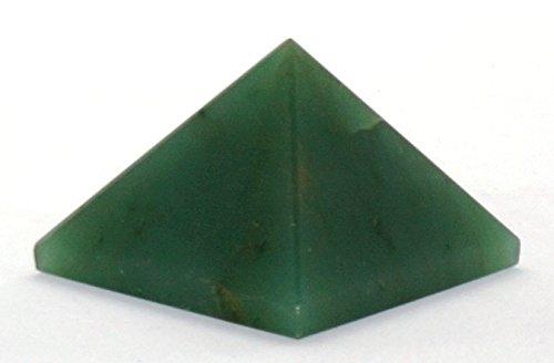 Edelstein Pyramiden metaphysisch Geschenk Home Office Leistungsstark Schutz Heilung Wellness Erfolg Meditation psychische Energie Pyramiden Green Aventurine 25-30mm