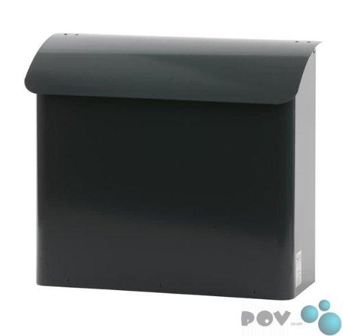 POV® Wandbriefkasten, b 41,5 cm, Anthrazit