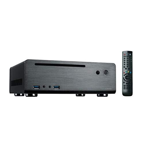 MC-80BL/120W Alu Case Mini PC ITX HTPC Mainboards Media Center Fernbedienung