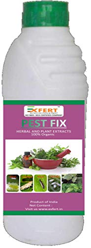 Exfert Pest-Fix 100% Organic Plants Pesticide, Insecticide and Fungicide 250ml for Plant