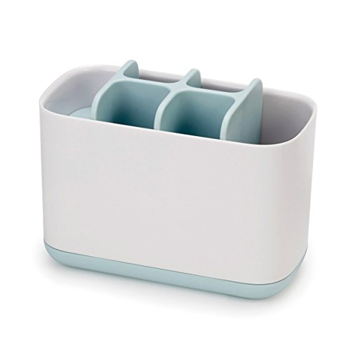 Joseph-Joseph-Bathroom-Easy-Store-Toothbrush-Caddy-WhiteBlue