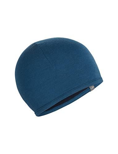 Icebreaker Pocket Hat Mütze, Prussian Blue/Midnight Navy, OS