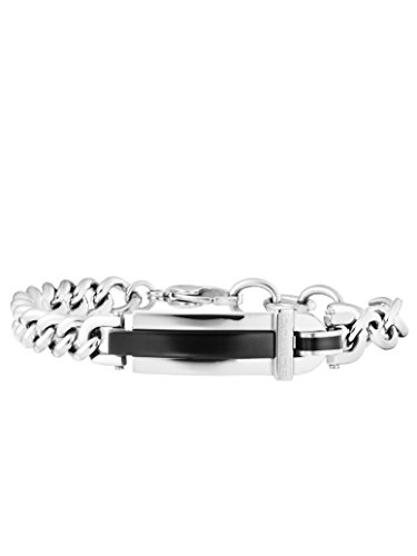 Police Herren-Charm-Armband Edelstahl PJ25559BSB.01