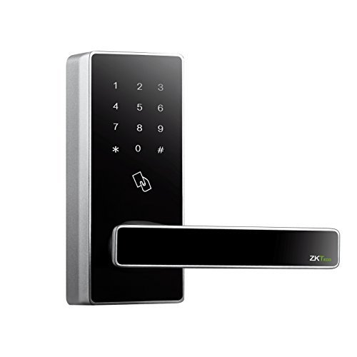 Bluetooth Door Locks Keyless Digital Keypad Lock Smart Electronic Locks Home Entry+5 pcs RFID Cards by ZKTeco (Zinc Alloy)