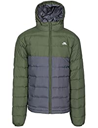 Trespass Oskar Chaqueta, Hombre, Green (Moss), Small amazon gris