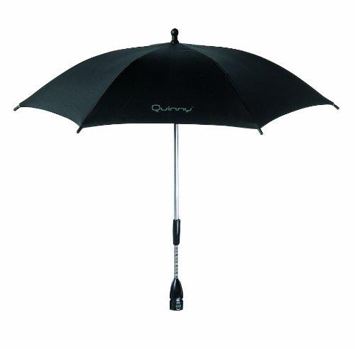 Quinny 72402540 Parasol with UV Protection for Pushchairs Buzz / Speedi / Senzz / Zapp Xtra / Zapp Raven Black