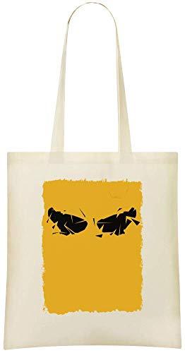 Yummy Apparel Deus Ex Pop Art Custom Printed Shopping Grocery Tote Bag 100% Soft Cotton Eco-Friendly & Stylish Handbag For Everyday Use Custom Shoulder Bags