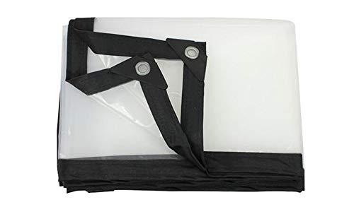 Preisvergleich Produktbild MMADD PlanePlane Dicke Plastikfolie transparente Plastikplane regendicht Markisentuch Verdickung Rand Plane regendicht, 3mX3m