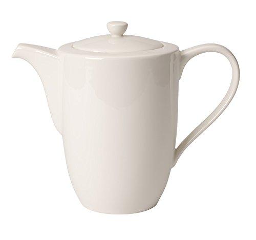 Villeroy & Boch 10-4153-0070 for Me Kaffeekanne 6 Personen, 1,2l, Porzellan im puristischen Weißen...