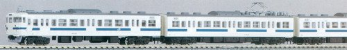 KATO 10 438 415 100 NEW COLOR ADD ON 4 CAR SET (JAPAN IMPORT)