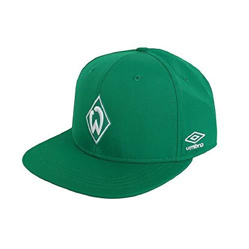 Umbro Werder Bremen Fan Basecap grün SVW Fußball Kappe Mütze Werder Fanartikel, Größe:OSFA (Adult) -