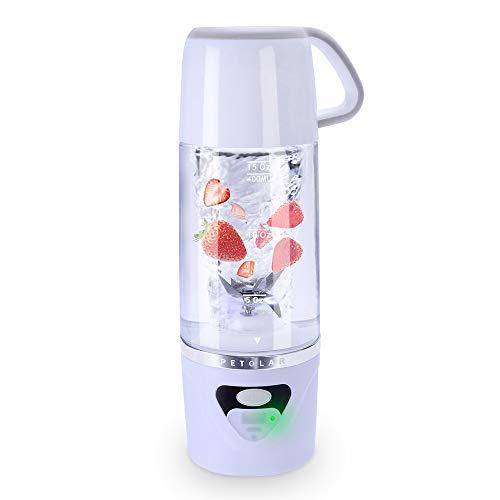 Batidoras de Vaso Individuales, 600ML Mini Licuadora Eléctrica, Recargable Juice...
