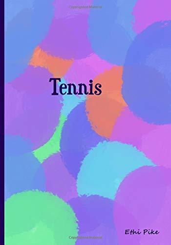 Tennis: Collectible Notebook por Ethi Pike