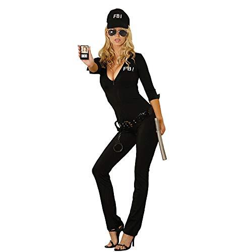 Damen-Kostüm FBI-Kostüm Agentin Polizistin Polizei-Verkleidung Flirt Anzug FBI Uniform Fasching Karneval Party Outfit (Für Frauen Zombie-outfits)