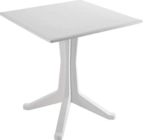 Ipae Poniente Contract Tisch rund, weiß, 30x 30x 30cm - 30 Runden Tisch