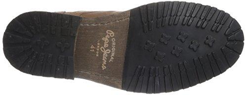 Pepe Jeans - Melting Zipper, Stivale da uomo Beige (Beige  (869 Tan))