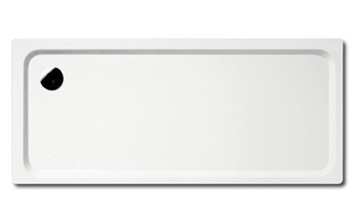 Preisvergleich Produktbild Kaldewei Superplan Rechteck Duschwanne weiß 800 x 900 x 25 mm 447848040001 inkl. Styroporträger / Wannenträger, Ablaufgarnitur:ohne Viega Ablaufgarnitur flach