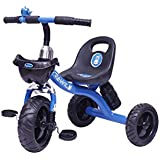 Speedbird Tricycle For Kids - Child Tricycle For Boys & Girls - Comfortable Baby Tricycles (Blue)