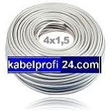 Mantelleitung NYM-J 4x1,5mm² -25m Ring- NYMJ