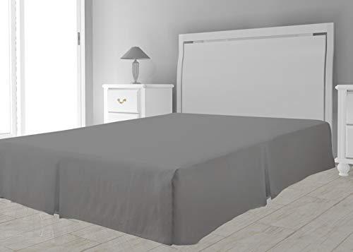 Intemporel Zeitloses Bettlattenrost, Polyester, Grau, 160 x 200 cm