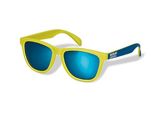Suzuki Gafas de Sol. Azul Amarillo