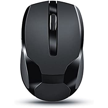 CSL - Ratón inalámbrico para portátil | Wireless Mouse | USB Nano Receptor 2,4GHz