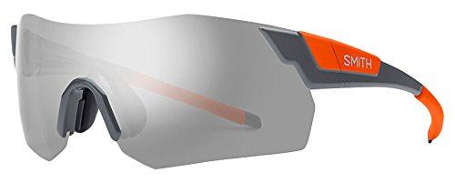 Smith Unisex-Erwachsene Pivlockare.Maxn Xb M9L 99 Sonnenbrille, Grau Orange/SIL Grey Speckled Cp