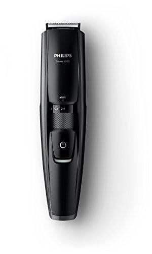 Philips BT5200/16 Serie 5000 Regolabarba con Lame in Metallo, Wet&Dry, Nero