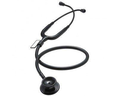 MDF® MD One - Premium Zweikopf-Stethoskop aus rostfreiem Stahl - Alle Schwarz (MDF777-BO)