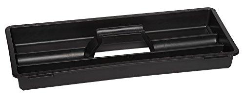 XL Werkzeugkoffer PROFI 18 aus Edelstahl mit robustem Kunststoff-Rahmen und herausnehmbaren Werkzeugträger. Mit Metallverschlüssen, abschließbar. Maße: 47 x 23,8 x 20,3 cm - 4