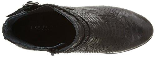 JONAK - 277-abria, Stivali Donna Nero (Noir (Reptile/Noir))